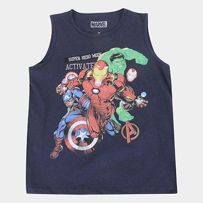 Regata Marvel Vingadores Masculina