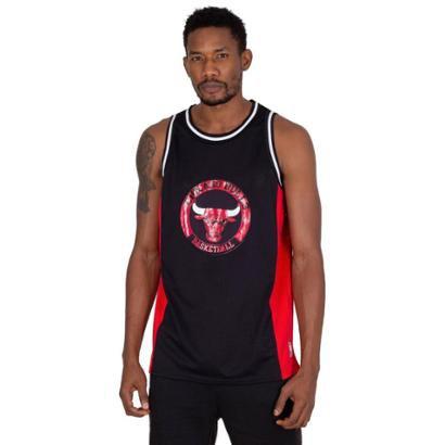 Regata NBA Estampada Chicago Bulls Masculino