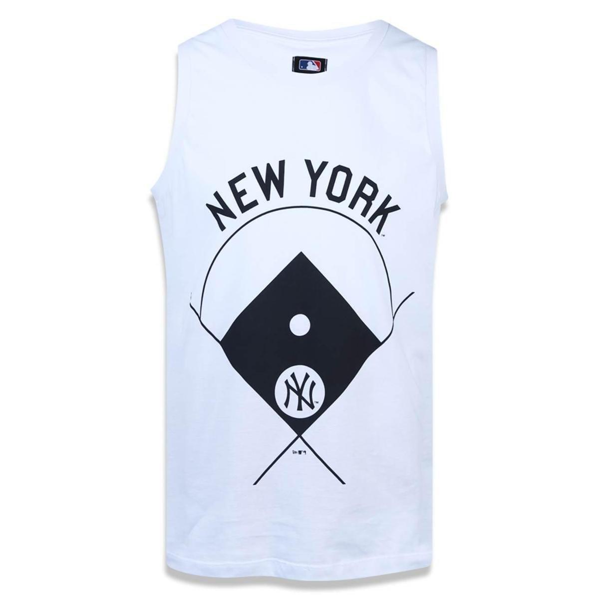 Regata New York Yankees MLB New Era Masculina - Branco - Compre ... d3ec3a77f4b