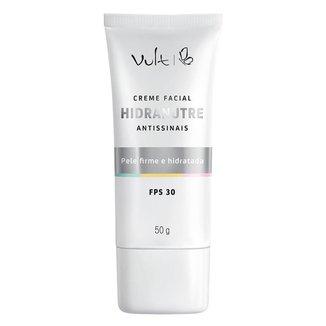 Rejuvenescedor Facial Vult - Creme Facial Hidranutre Antissinais 50g