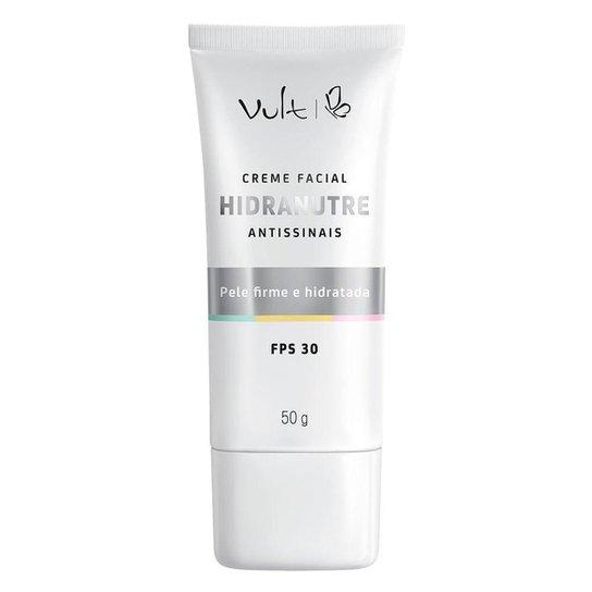 Rejuvenescedor Facial Vult - Creme Facial Hidranutre Antissinais 50g - Incolor