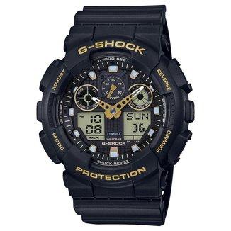 Relógio Analógico Digital G-Shock GA-100GBX-1A9DR Masculino