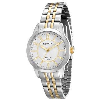 Relógio Analógico Seculus 28666LPSVBA2 Feminino