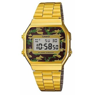 Relógio Casio A168WEGC3DF Dourado Digital