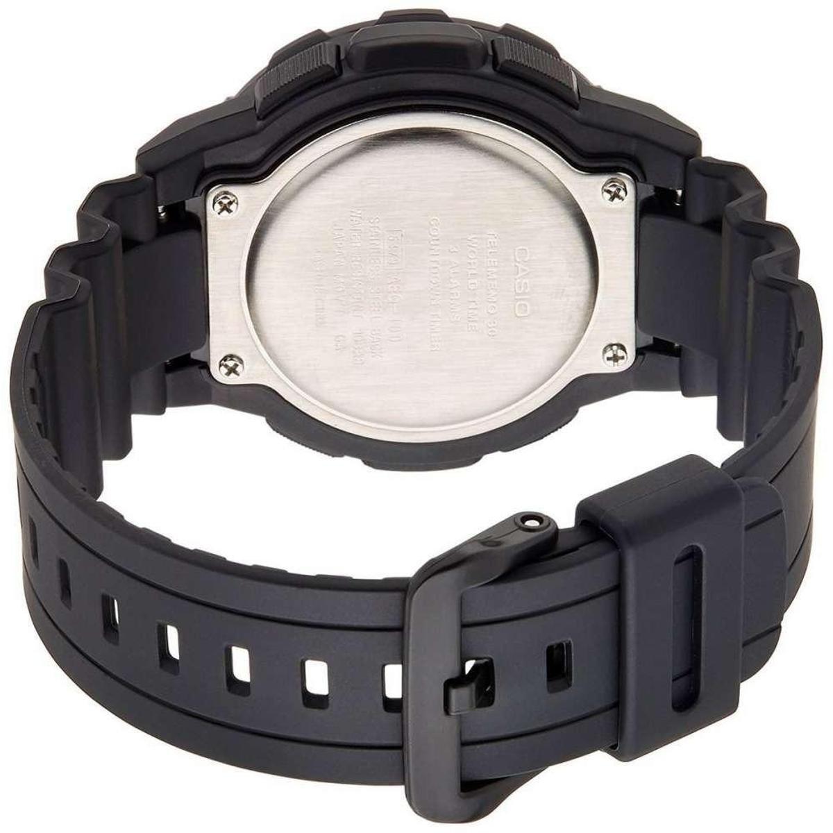 6acb3c696b6 Relógio Casio Aeq-100w-1bvdf Masculino - Compre Agora