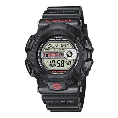Relógio Casio G-Shock Gulfman G-9100-1DR Titânio Masculino