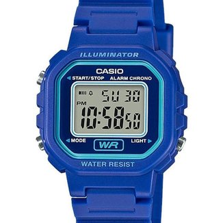 Relógio Casio Quadrado La Feminino LA-20WH-2ADF