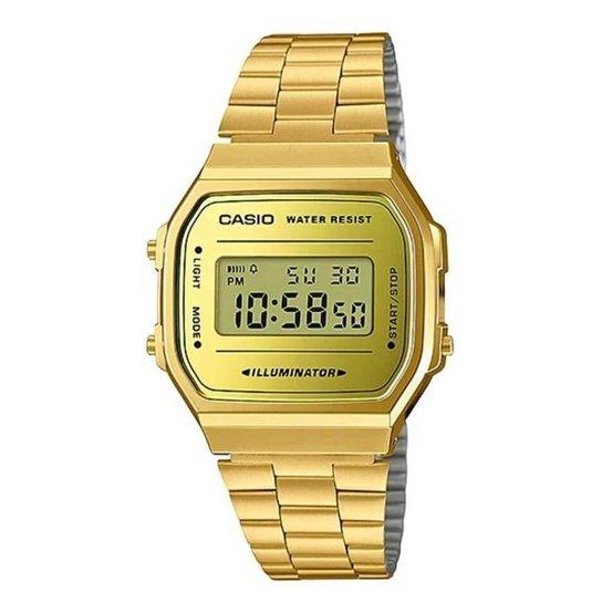 Relógio Casio Unisex Vintage - Dourado