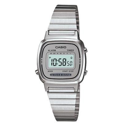 Relógio Casio Vintage Digital La670Wa Feminino-Feminino