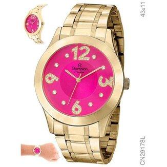 Relógio Champion Cn29178l Feminino