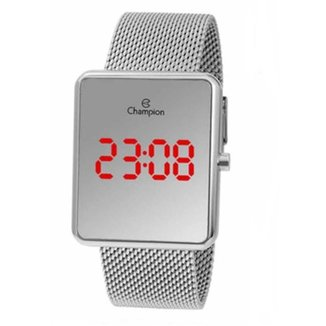 Relógio Champion Digital Espelhado Feminino