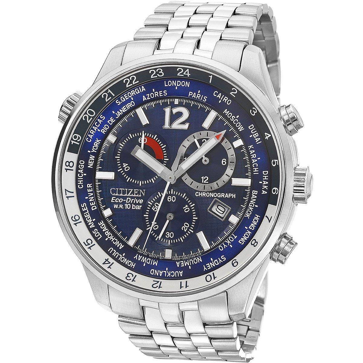 e1657109976 Relógio Citizen Cronógrafo Hora Mundial - Compre Agora