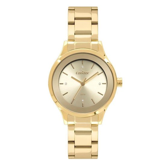 Relógio Condor Bracelete  Feminino - Dourado