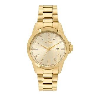 Relógio Condor Casual Dourado COPC32BJ4X Masculino
