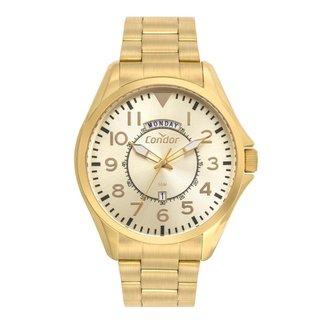 Relógio Condor Casual Militar Dourado COVJ45AAS4D Masculino