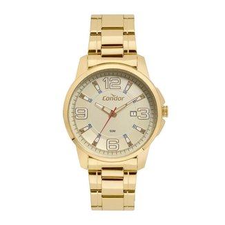 Relógio Condor Casual Speed Dourado COPC32BX4D Masculino