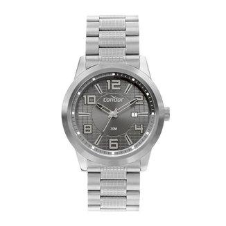 Relógio Condor Casual Speed Prata COPC32BF4F Masculino