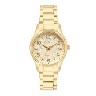 Relógio Condor Dia a Dia Dourado CO2036MVIK4D Feminino
