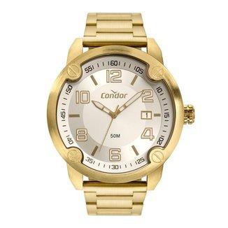 Relógio Condor Esportivo Civic Dourado COPC32BW4K Masculino