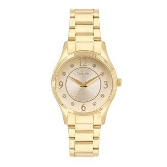 Relógio Condor Eternal Dourado CO2036MVM4D Feminino