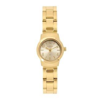 Relógio Condor Eternal Mini Dourado COPC21JAR4D Feminino