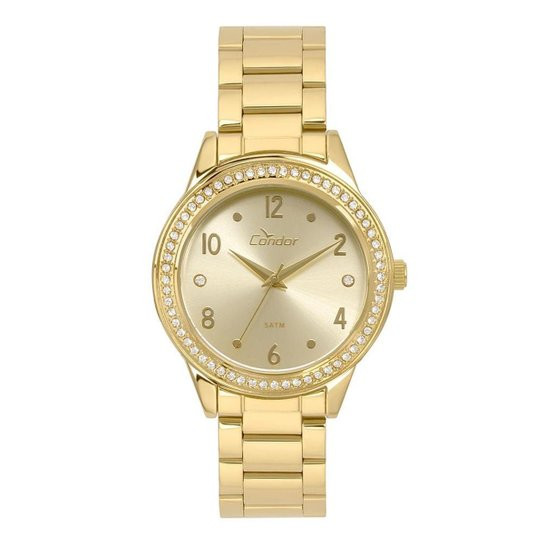 Relógio Condor Feminino Bracelete - CO2036KUI/4D CO2036KUI/4D - Dourado