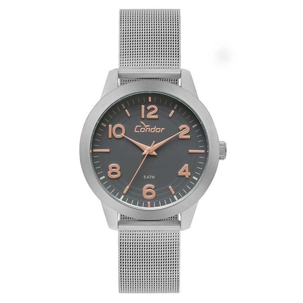 b53d4cecd68 Relógio Condor Feminino Bracelete - CO2036KUP 3C CO2036KUP 3C ...