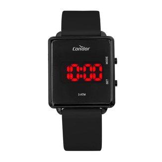 Relógio Condor Feminino Digital Preto COJHS31BAE/2P COJHS31BAE/2P