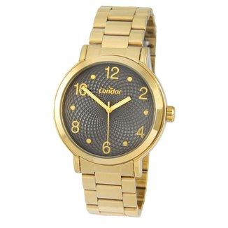 Relógio Condor Feminino Elegante Dourado CO2035KMVK4F