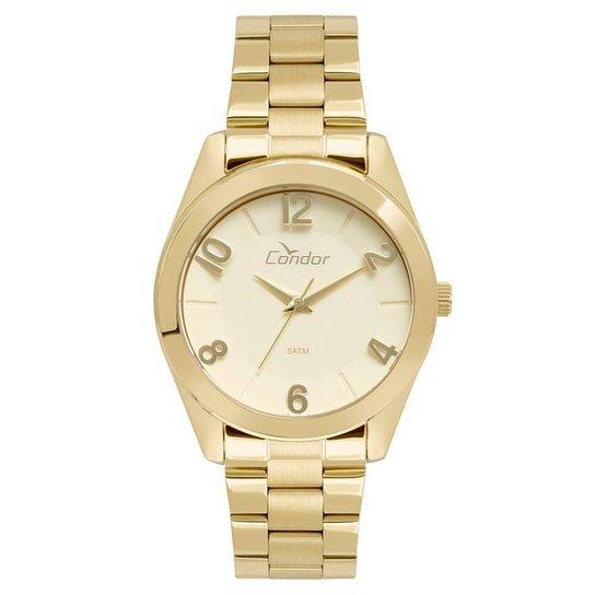 Relógio Condor Feminino Eterna Bracelete - CO2039AJ/4D CO2039AJ/4D - Dourado