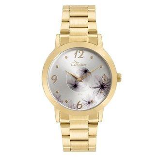 Relógio Condor Feminino Fashion Disco Dourado - CO2035KVW/4K CO2035KVW/4K