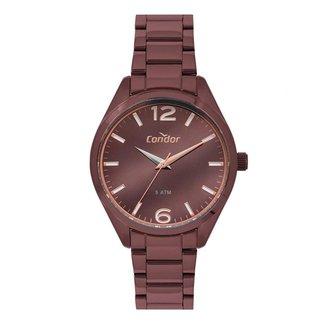 Relógio Condor Feminino Premium Marrom CO2036MUC/4M CO2036MUC/4M