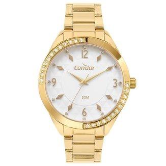 Relógio Condor Feminino Shine Dourado CO2039MTZK4K