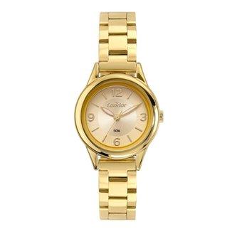 Relógio Condor Feminino Small Dourado COPC21AECZ7D