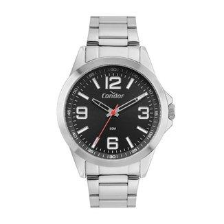 Relógio Condor Magazine Casual Prata CO2035MXD4P Masculino