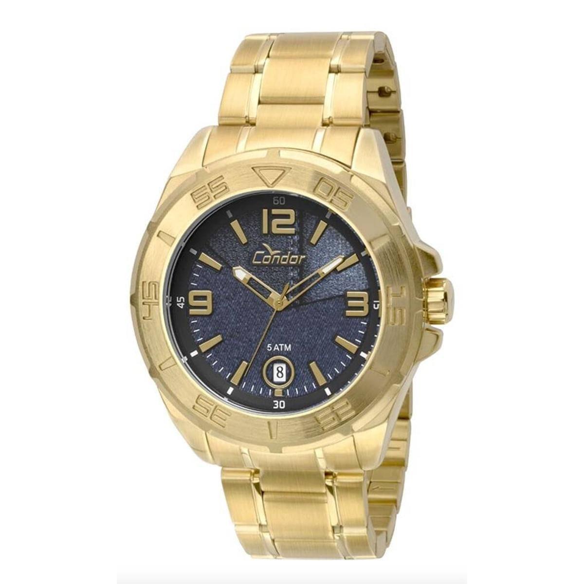 dcf56135e1a Relógio Condor Masculino - Dourado - Compre Agora