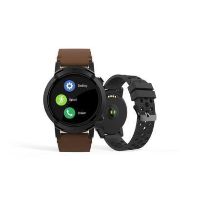 Relógio Couro Seculus Smartwatch 49mm