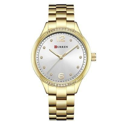 Relógio Curren Analógico C9003L-Feminino