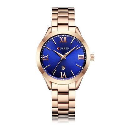 Relógio Curren Analógico C9007L-Feminino