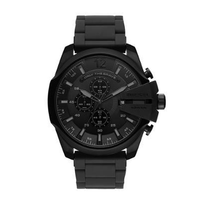 Relógio Diesel Silicone Black Masculino