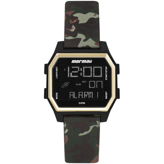 Relógio Digital Mormaii Luau Feminino - Dourado