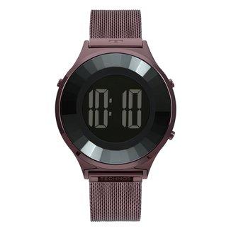 Relógio Digital Technos Crystal Feminino