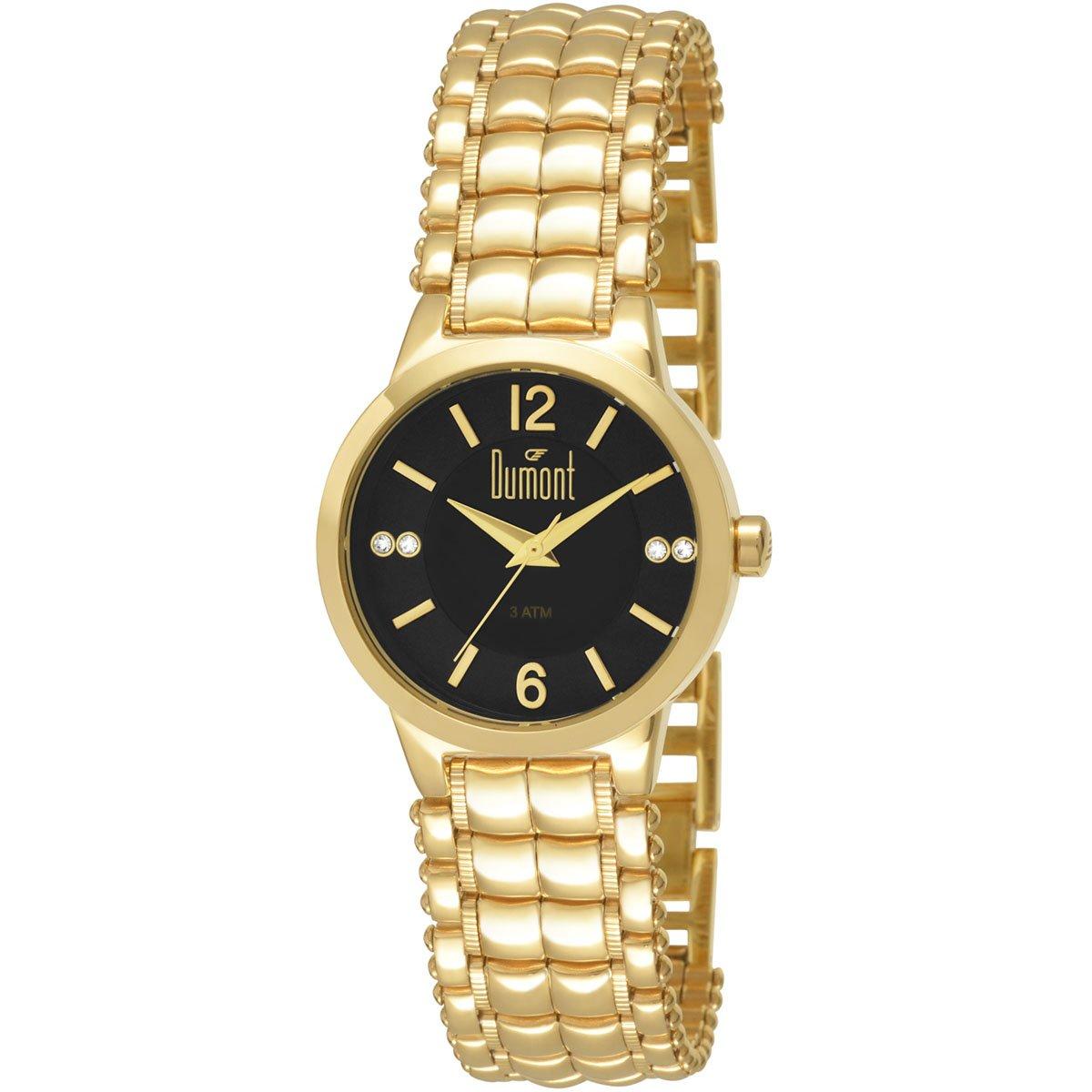 Relógio Dumont Analógico Pedras - Compre Agora   Zattini 6ca4ffe939