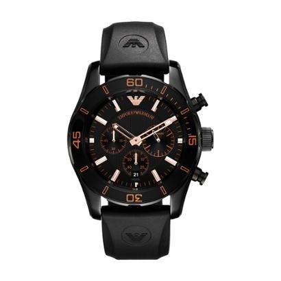 134a9cc2404fa Relógio Emporio Armani Masculino - HAR5946 N HAR5946 N - Preto - Compre  Agora   Zattini