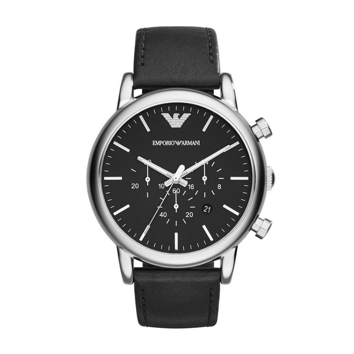 46836ec80fe Relógio Emporio Armani Masculino Luigi - AR1828 0PN AR1828 0PN - Compre  Agora