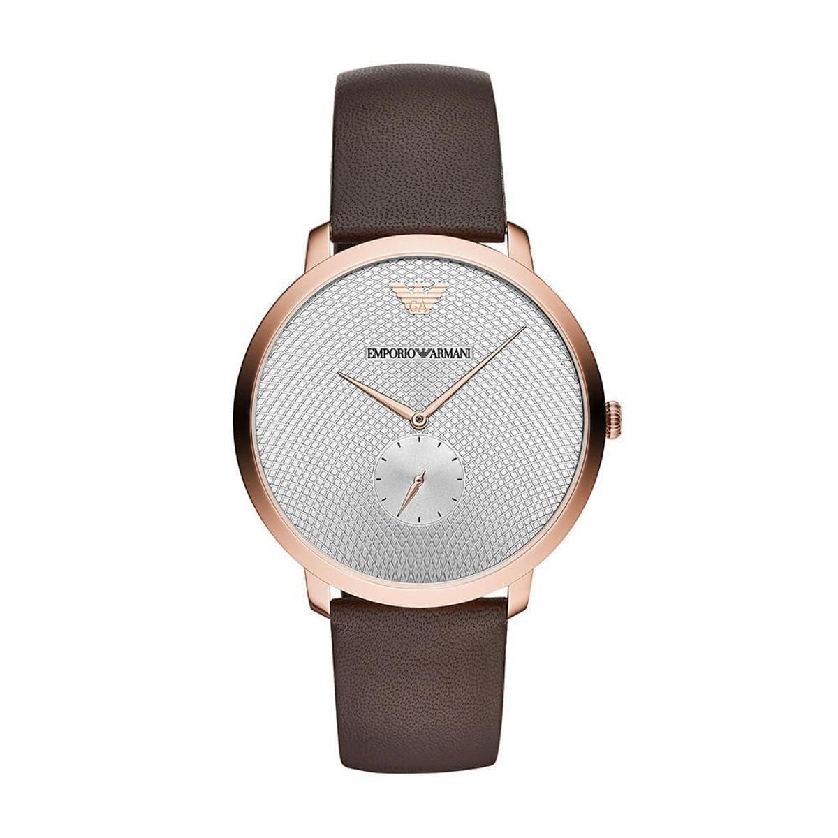 3cc059a0b Relógio Empório Armani Modern Slim Masculino - Preto - Compre Agora ...