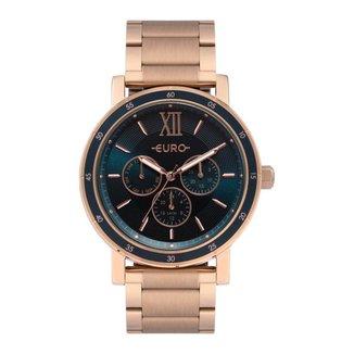 Relógio Euro 43mm Aço Feminino