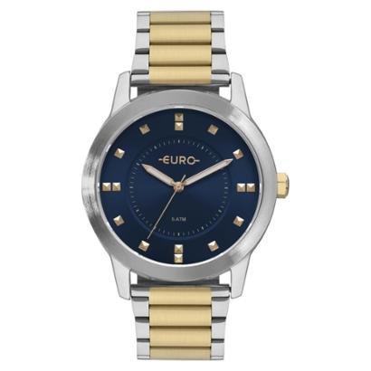 Relógio Euro Analógico Versátil Casual Feminino