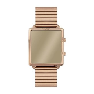 Relógio Euro Digital 36mm Aço Feminino