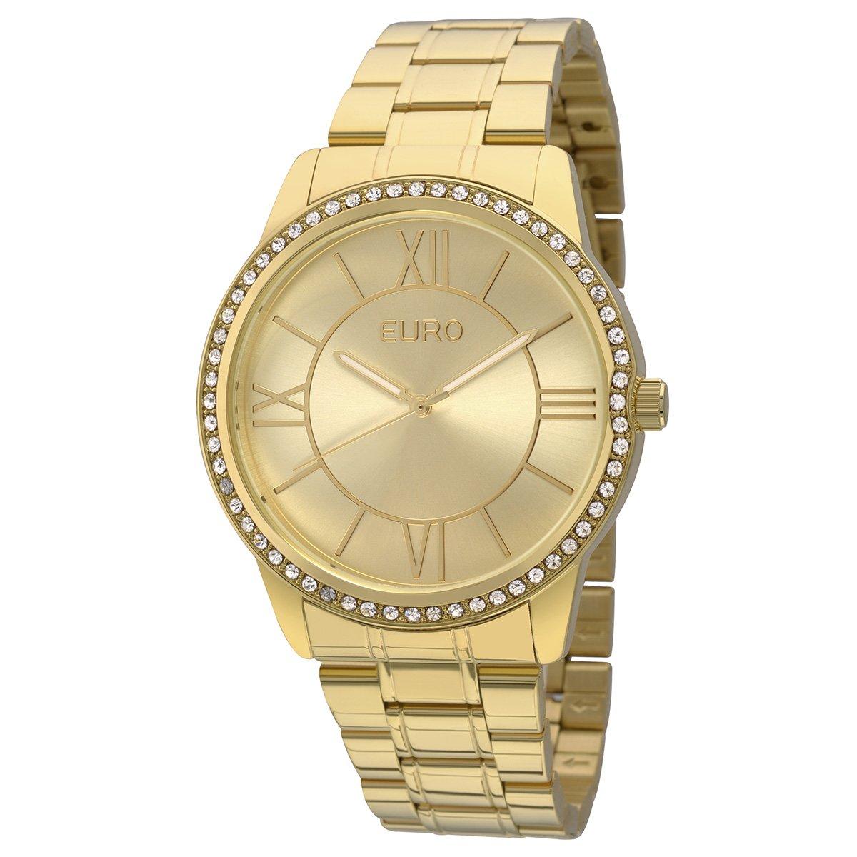 Relógio Euro Feminino EU2035YEA-4D - Dourado - Compre Agora   Zattini fcb70ca208